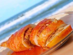 La recette des calamars farcis