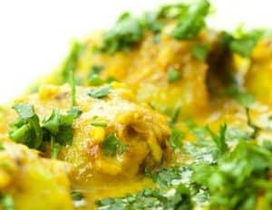 Curry vert à ma façon