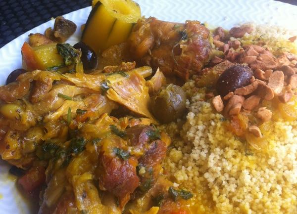 la meilleure recette poulet olives coriandre citron confit sur la mailleurecette