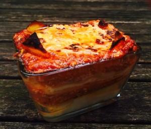 Les lasagnes au brocciu (ou à la brousse)