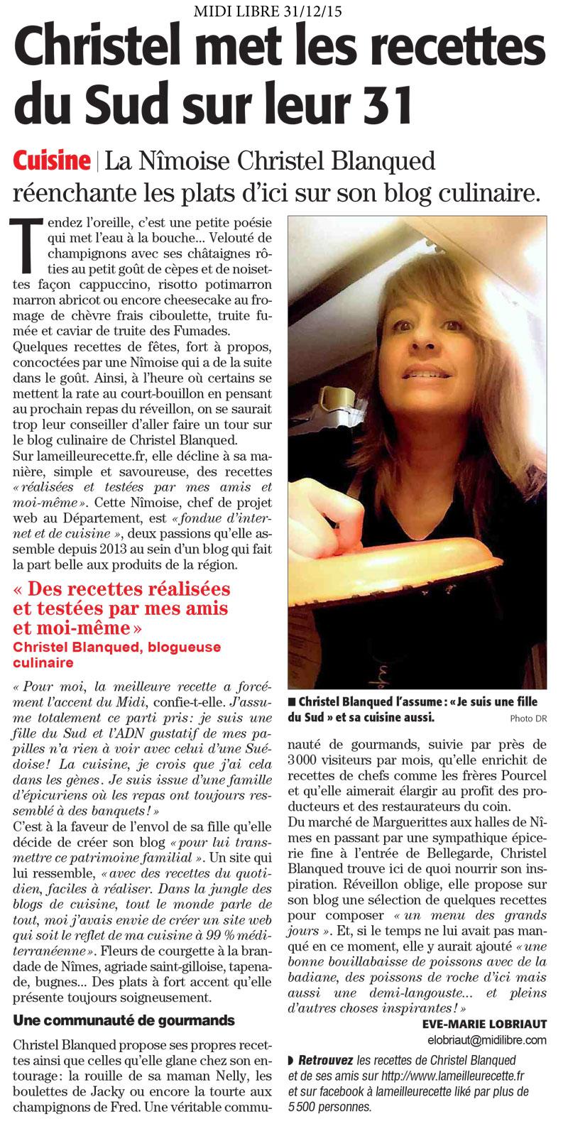 Article de midi-libre-lameilleurecette-31-12-2015