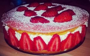 La recette du succulent fraisier express