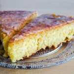 mon gâteau à l'orange inspiré de la recette du gâteau à l'orange de la mère Blanc