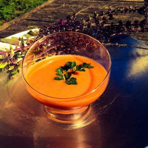 La soupe à la tomate…un avant goût des saveurs d'été, la soupe anti-morosité
