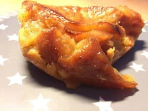 Clafoutis pommes poires caramélisées