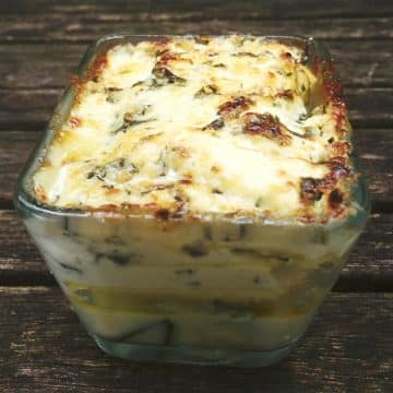 lasagnes courgettes pesto