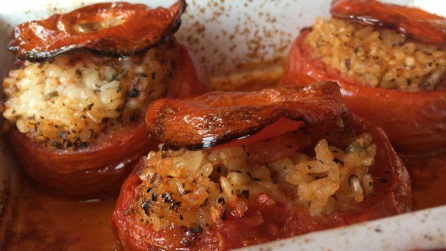 la meilleure recette-tomates au riz- lameilleurecette