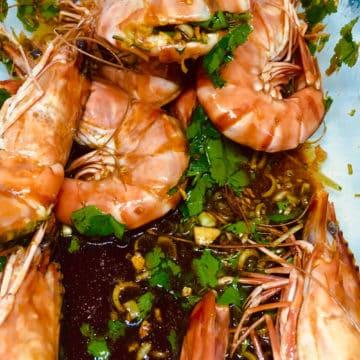 la meilleure recette de crevettes marinées... comme dans le sud de l'Asie lameilleurecette