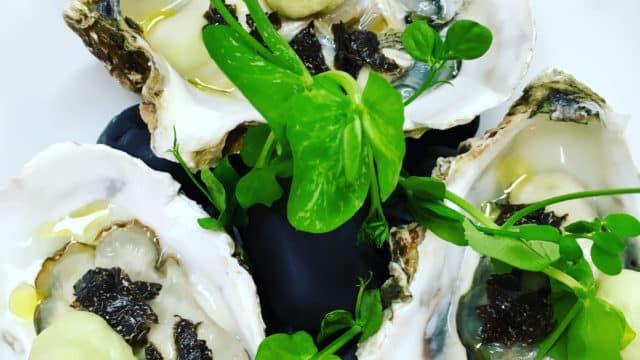 huitres céleri truffes la meilleure recette vincent croizard