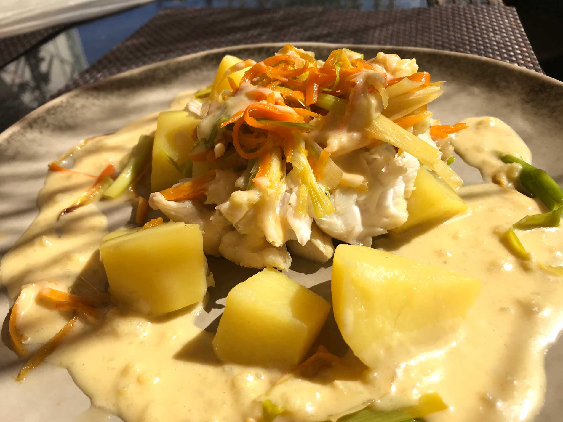 la meilleure recette de bourride safranée - lameilleurecette